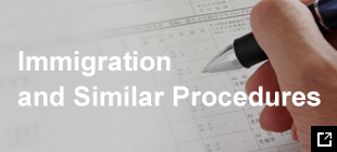 Immigration and similar procedures